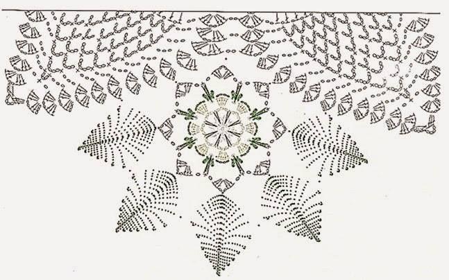 un napperon au couleur de noel