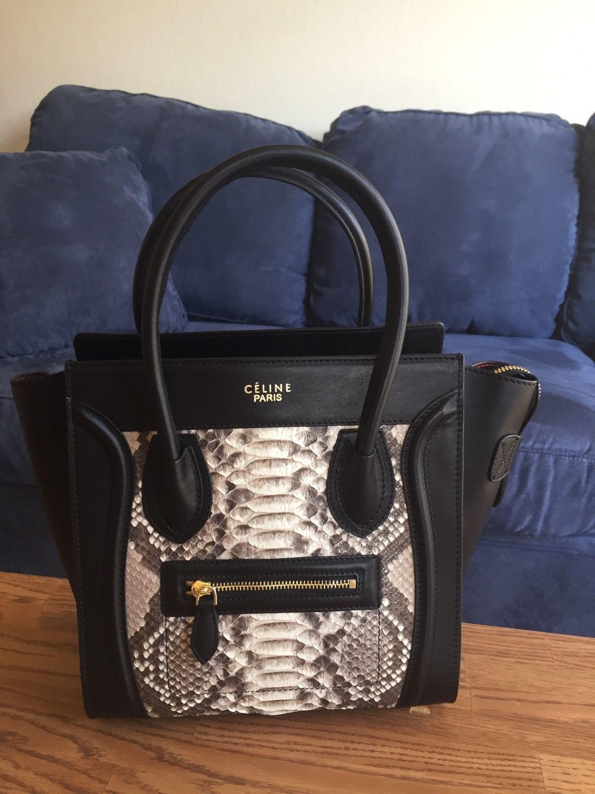 Celine Paris Phantom Luxury Mini Luggage Handbag Nano Baby Size Price Comparison