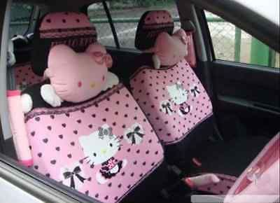 12 PCs Hello Kitty UNIVERSAL Car Seat Covers Front Rear Cover Accessory Set https://t.co/UTop5Be6h3 https://t.co/htijBr6Gn7
