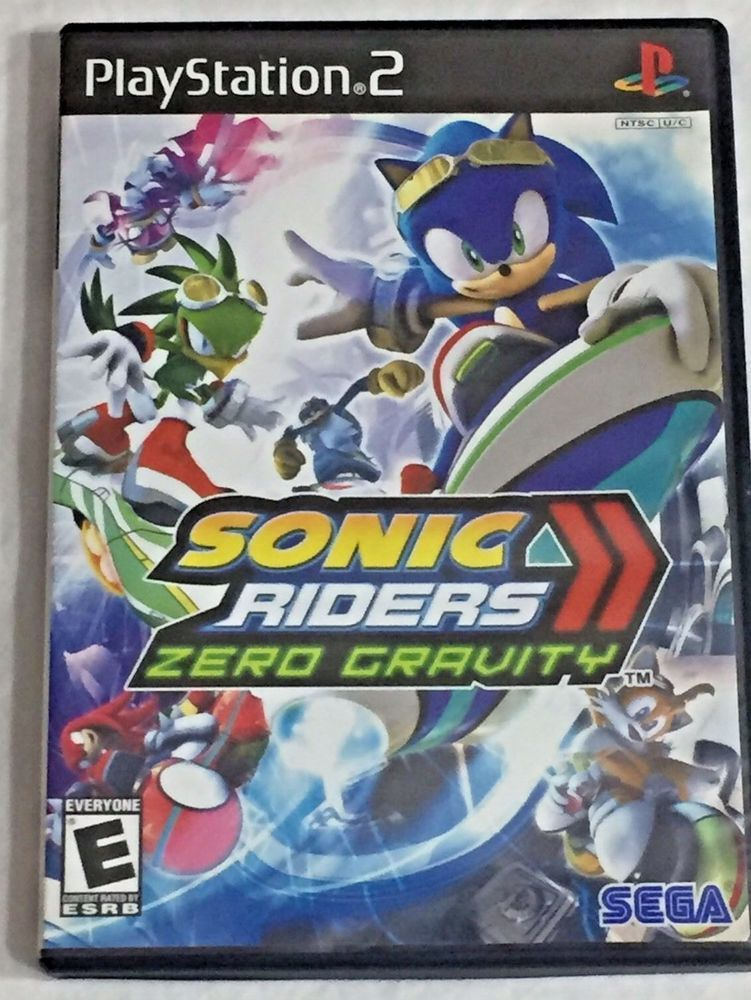 Sonic Riders Zero Gravity Playstation PS2 Video Game With