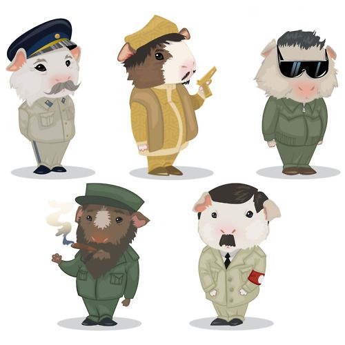 What if dictators were actually guinea pigs?