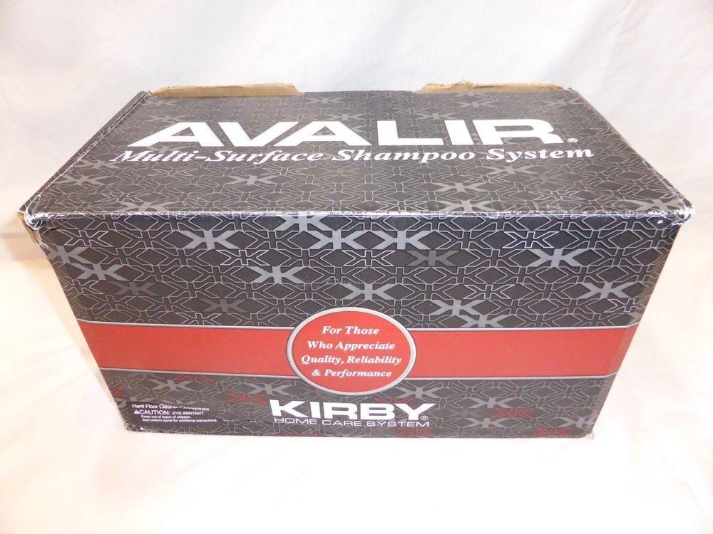 Kirby Vacuum Avalir Multi Surface Shampoo System 293014 New In Box Never Used Kirby Surface Shampoo Kirby Avalir Kirby Vacuum