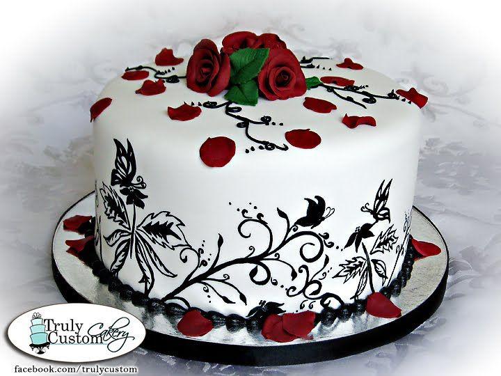 Strange Happy Birthday Francesca Red Birthday Cakes Birthday Cupcakes Birthday Cards Printable Benkemecafe Filternl