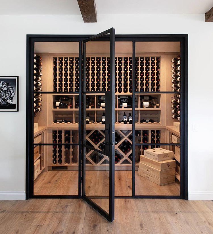 Epingle Par Verheyden Sur Deco Maison Cave A Vin Moderne Idee
