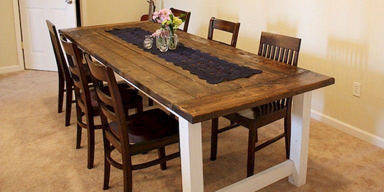 55 SMART FARMHOUSE KITCHEN TABLE DESIGN IDEAS AND MAKEOVER