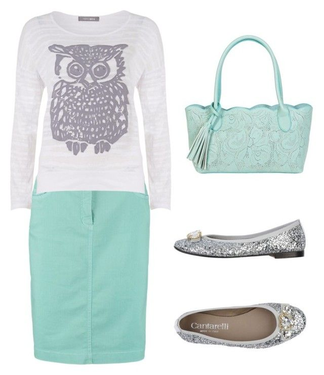"""Owl"" by mckayla95 ❤ liked on Polyvore featuring moda, Gerry Weber Edition, Coin 1804, Cantarelli y BUCO"