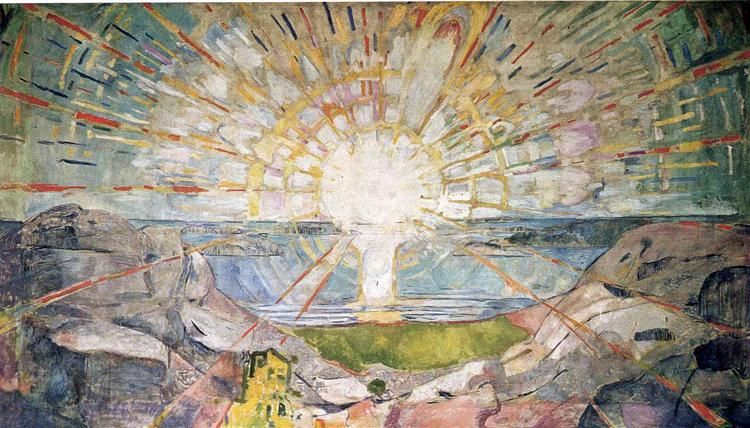 The Sun, 1911-1916 - Edvard Munch