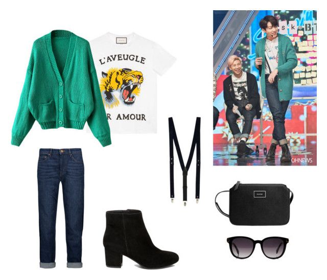 Ispired // Jungkook BTS by heyitsmaleny on Polyvore featuring polyvore,  fashion, style,