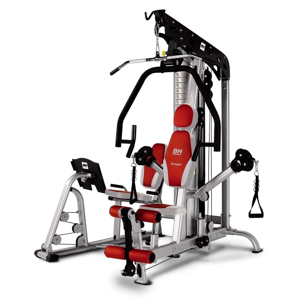 Bh fitness tt pro g156 multistation pour utilisation semi