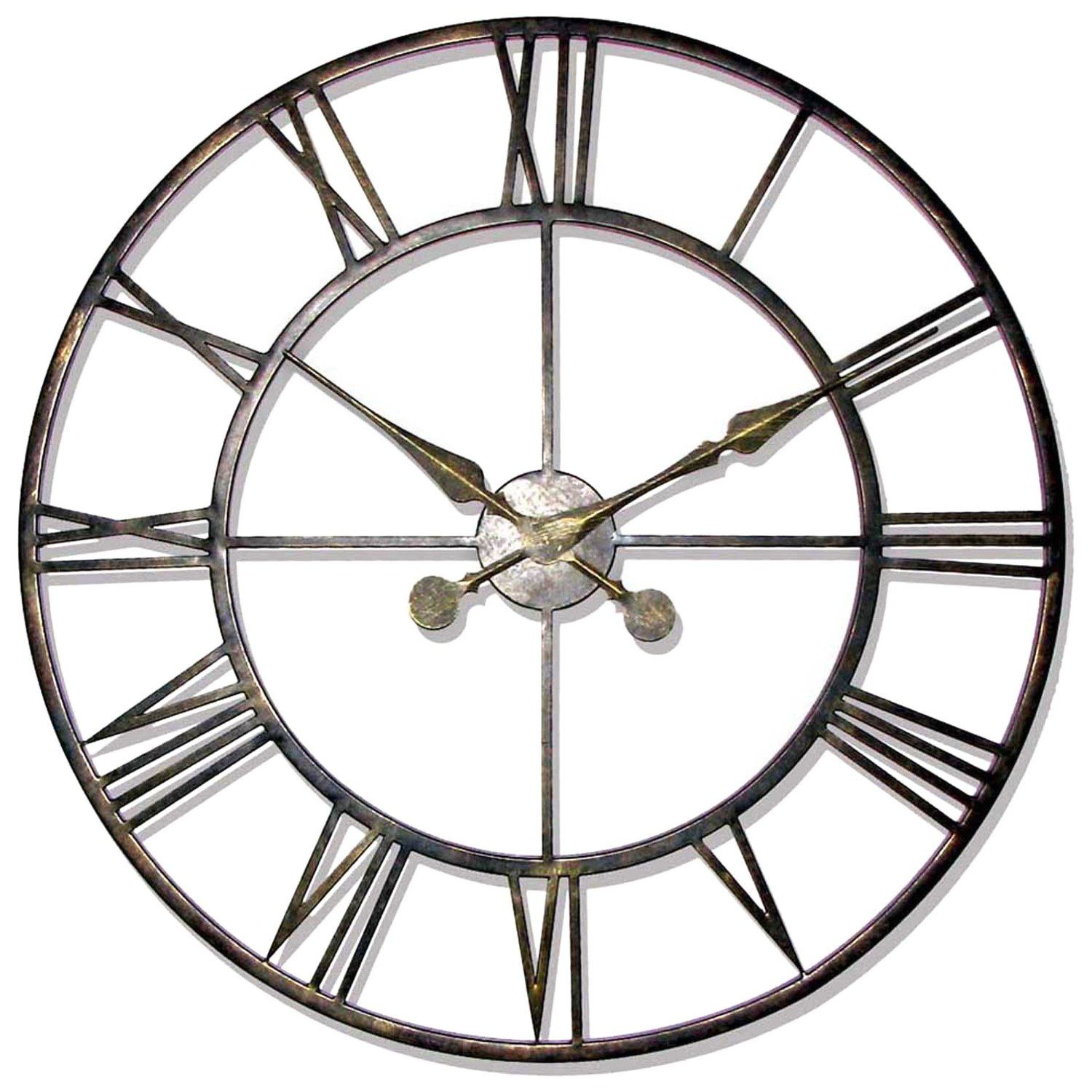 Decorative Wall Clocks For Living Room Stylish Large Wall Clocks Fun Fashionable Home Accessories And
