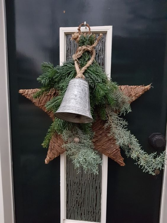 Easy to Make Outdoor Christmas Decorations on a Budget | Snowman Crafts | Page 35 #bell