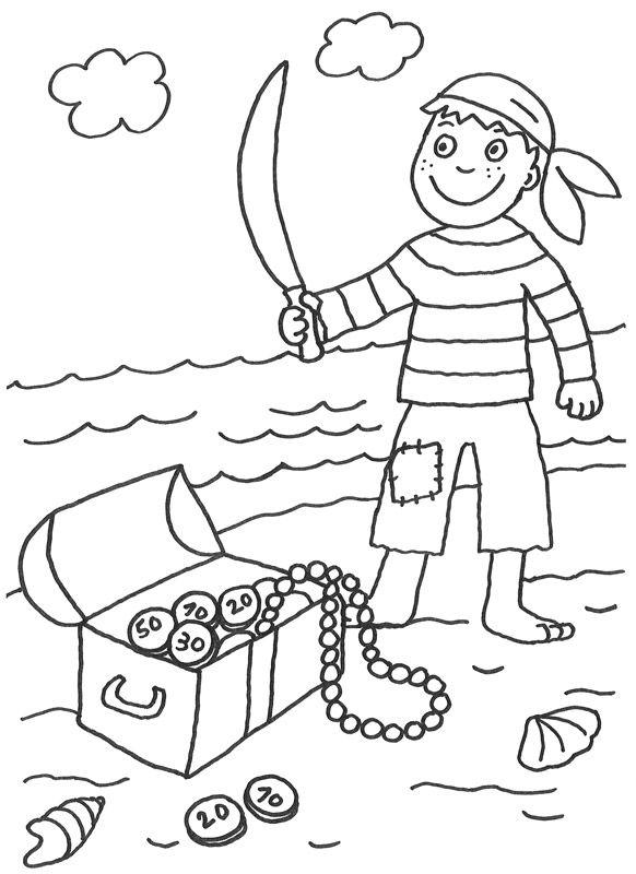 Malvorlagen piraten zum ausdrucken Ausmalbilder piraten