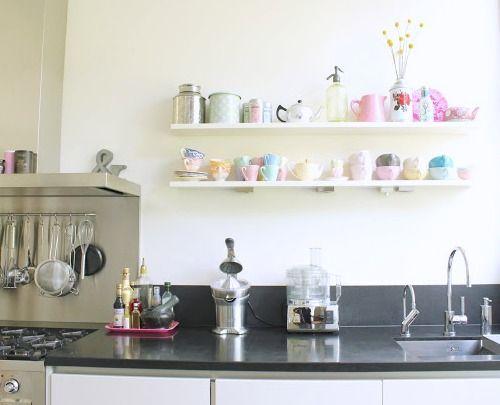 Keuken planken kitchen pinterest planken open planken en keuken
