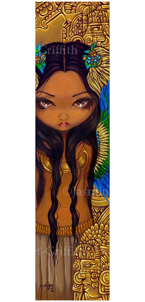 Aztec Princess - Strangeling: The Art of Jasmine Becket-Griffith
