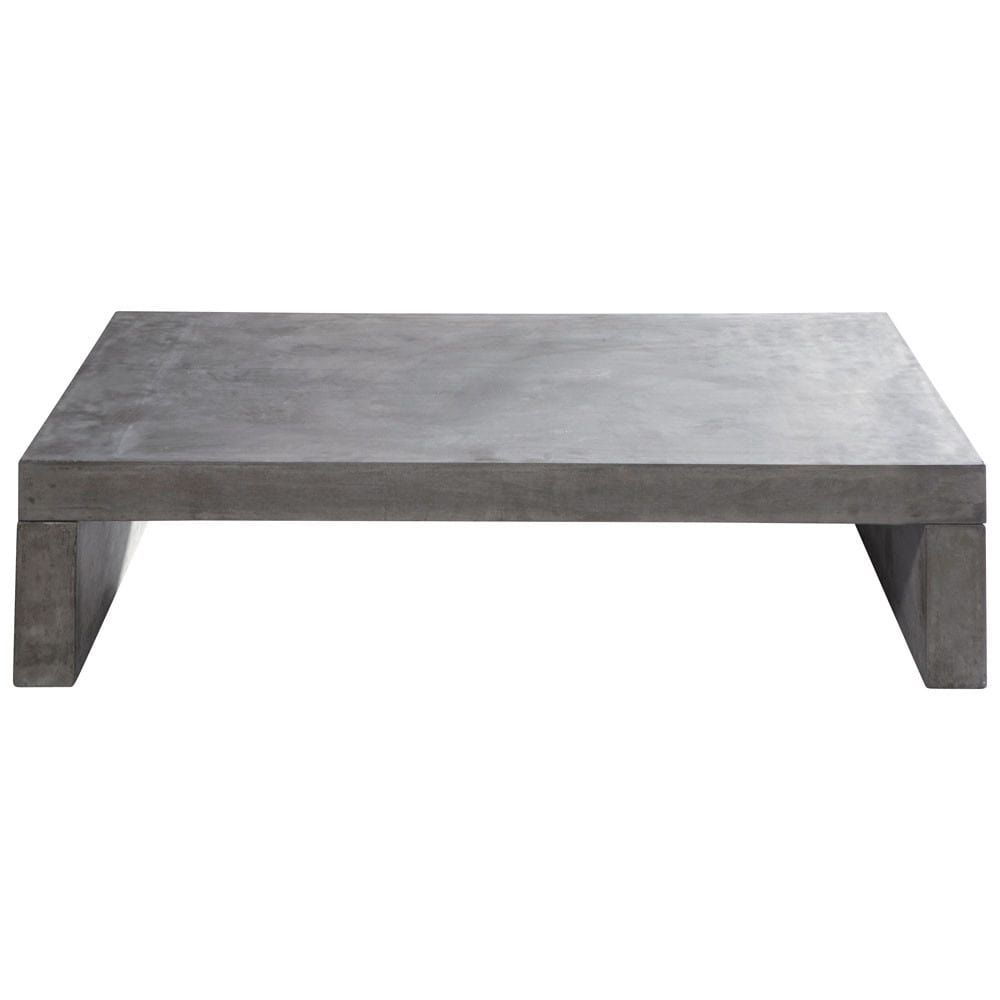 Table Basse De Jardin En Graphite Coffee Table Coffee Table Wood Garden Coffee Table