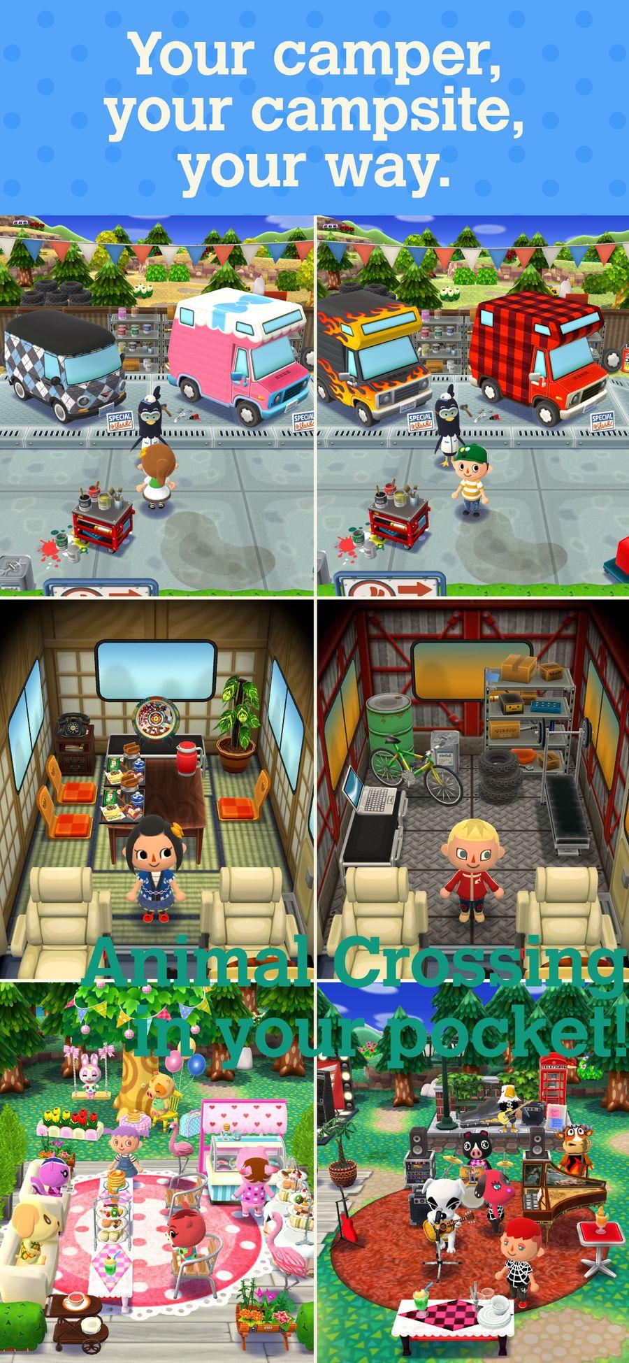 Animal Crossing Pocket Camp SimulationGamesiosFamily