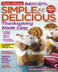 Georgine Saves » Blog Archive » Good Deal: Simple & Delicious Magazine Subscription $7.64 TODAY ONLY!
