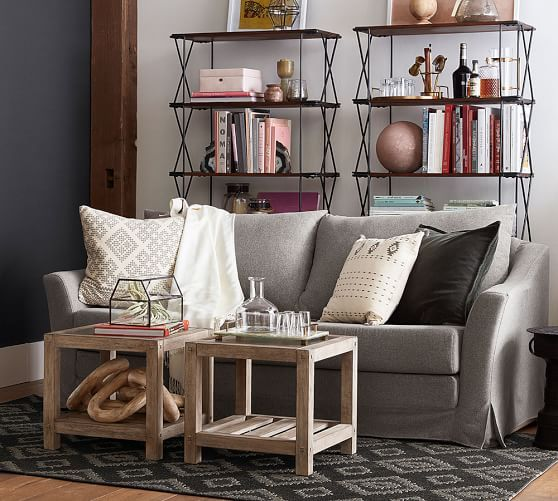 Brooklyn Square Coffee Table Apartment Living Room Design Furniture For Small Spaces Apartment Living Room