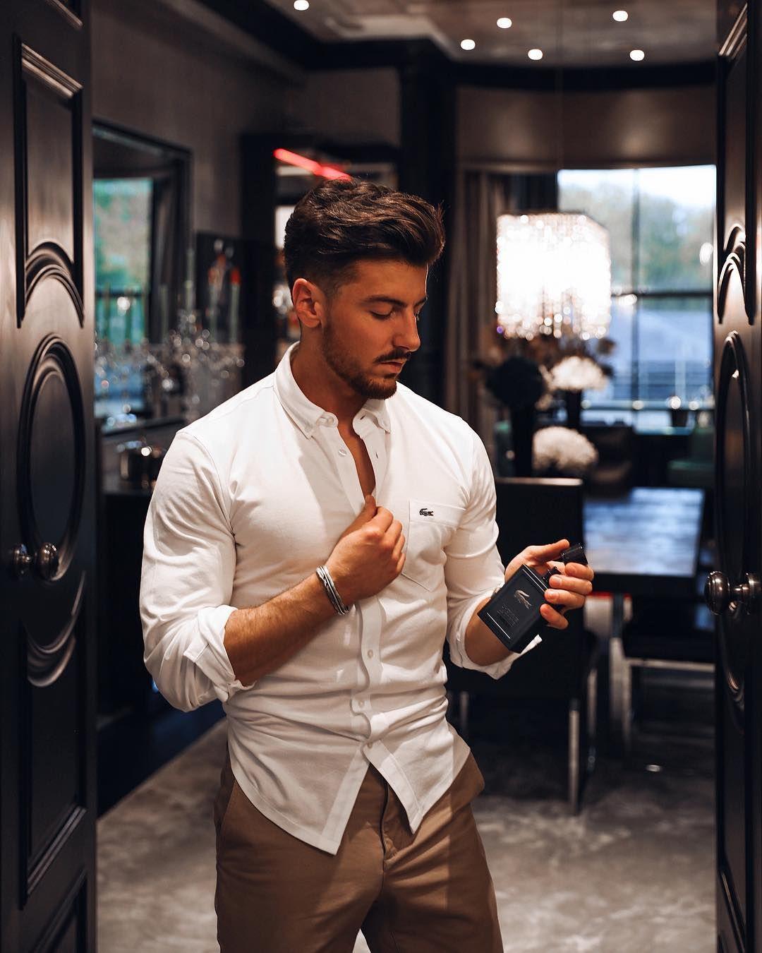 Oxford Men Blue Plain Formal Dress Shirt Men Shirt Style White Shirt Men Mens Fashion Summer Shorts [ 1350 x 1080 Pixel ]