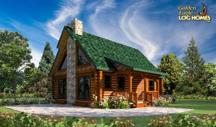 Log Homes And Log Home Floor Plans Cabins By Golden Eagle Log Homes Log Cabin Floor Plans Cabin Floor Plans Log Home Plans