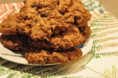 sweet potato chocolate chip oatmeal cookies