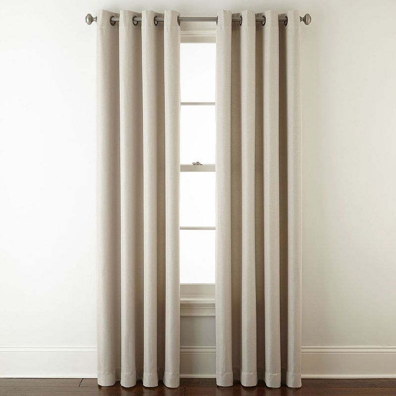 Home Expressions Pasadena Blackout Grommet Top Curtain Panel