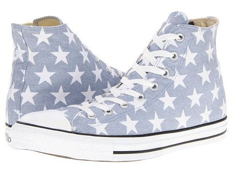 a68a28535089 Converse Chuck Taylor® All Star® Star Print Hi Jester Red White Star Print  - Zappos.com Free Shipping BOTH Ways