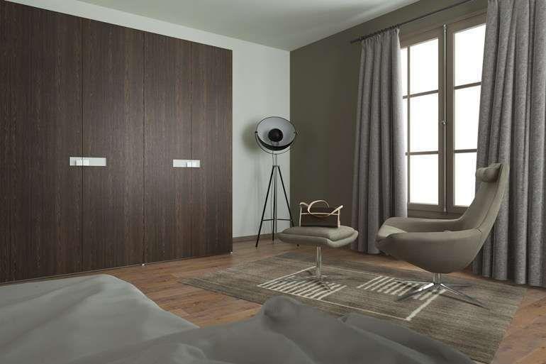Abbinamento colore pareti e mobili wengè | Mobili camera da ...