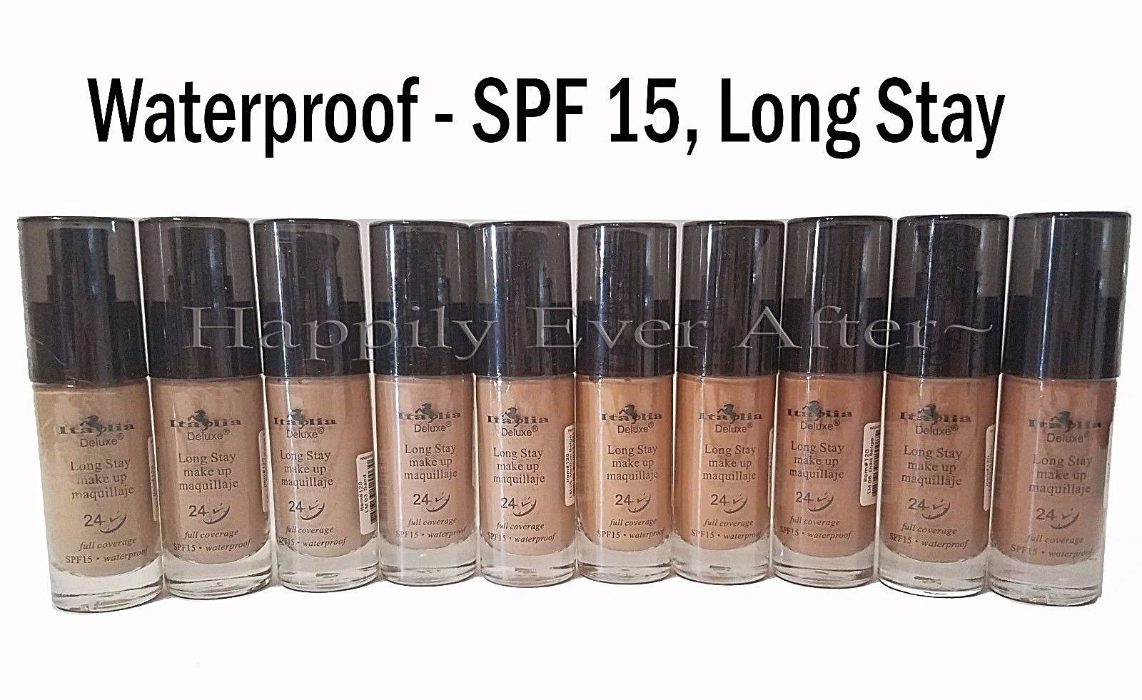 Italia Long Stay Make Up Foundation Waterproof, SPF 15