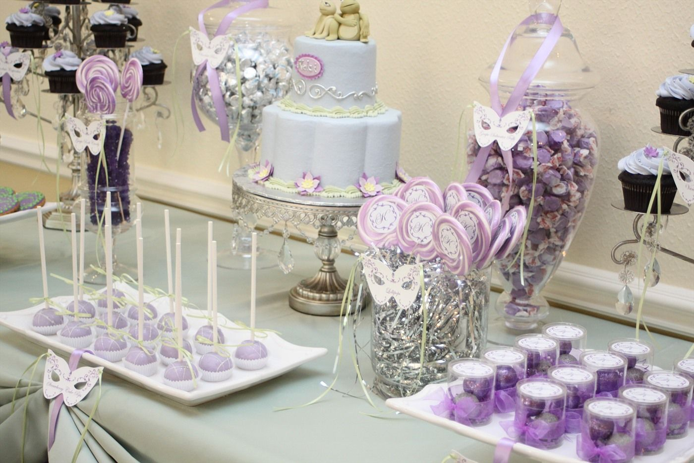 Table Decorations For Masquerade Ball Candy Buffets  Fantasy Celebrations  Poweredphanfare  The