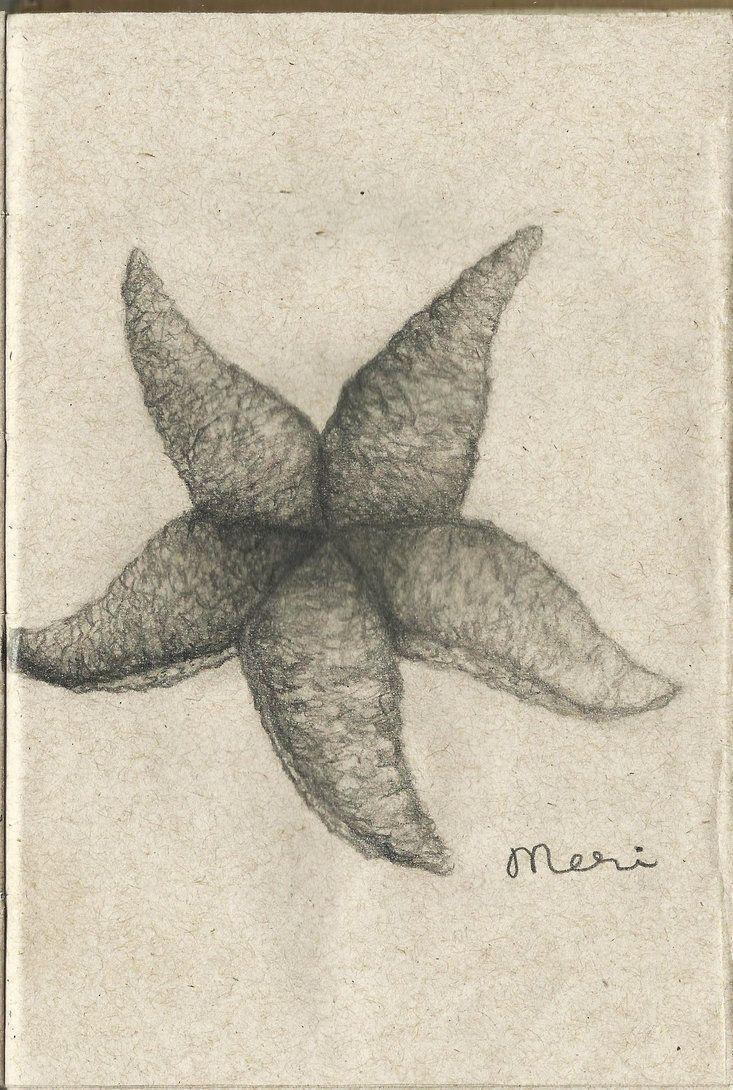 30 Day Drawing Challenge Jour 6, quelque chose que vous n'avez jamais dessiné avant Sea Star - # avant #challenge #drawing #never #someth - #a -