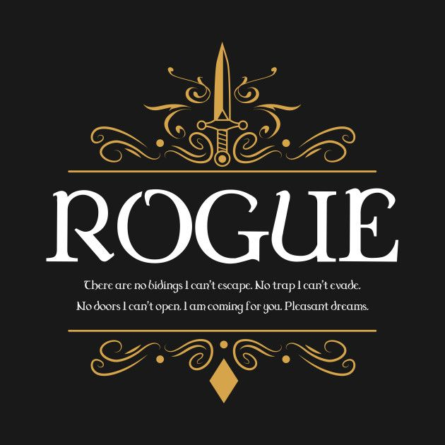 Image Result For D&D Shirt Rogue