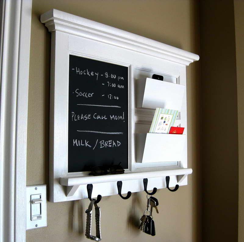 Chalk Board Organiser Home Decor Chalkboard Decor Home Diy