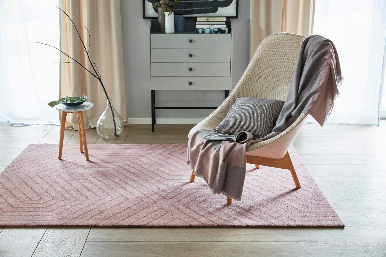 Esprit Home I Kurzflor Teppich Aus Wolle I Raban Esp 4183 03 I