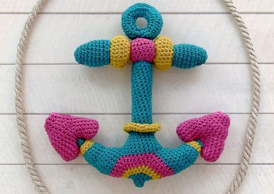 Awesome crocheted anchor