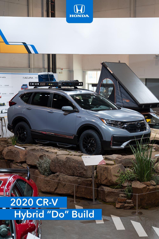 2020 Honda Cr V Hybrid Do Build By Jsport At Sema2019 Honda Cr Honda Cr V
