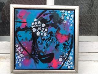 akryl maleri.. abstrakt