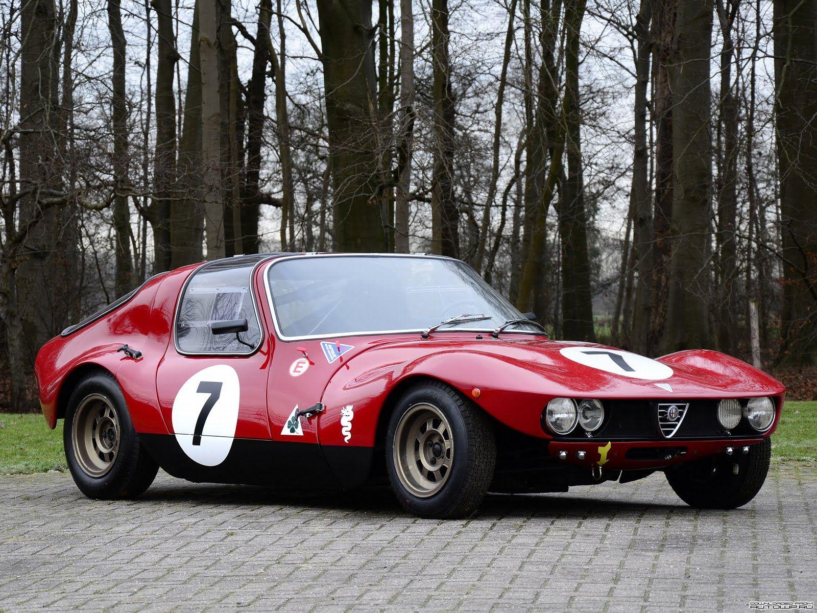 Alfa Romeo Giulia TZ Prototipo By Autodelta U00271965 #cars #vintage