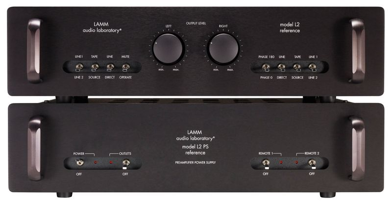 Model L2 Reference represents top of the line in LAMM hybrid and solid-state audio equipment. It is one of the best creations of its designer's professional career--a result of years of intensive research directed at attaining the most accurate reproduction of recorded music. Unique topology and application of the most advanced technological resources and processes bring the L2 near the threshold of excellence in sound reproduction.