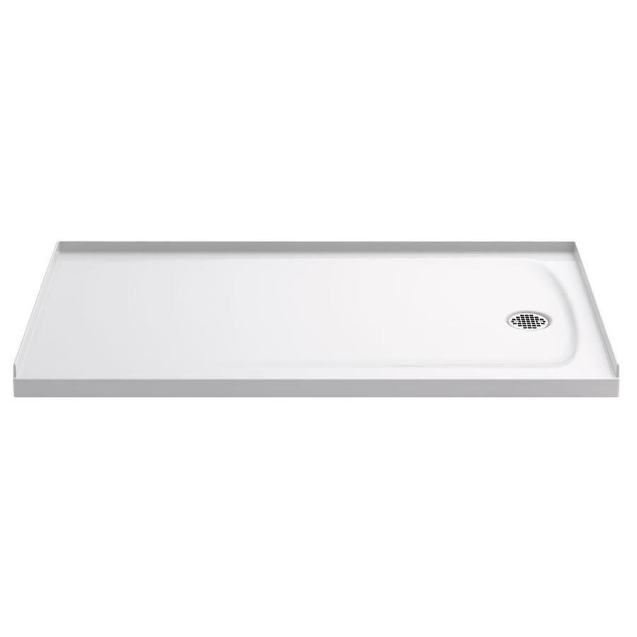 Kohler Ballast White Acrylic Capped Solid Surface Shower Base