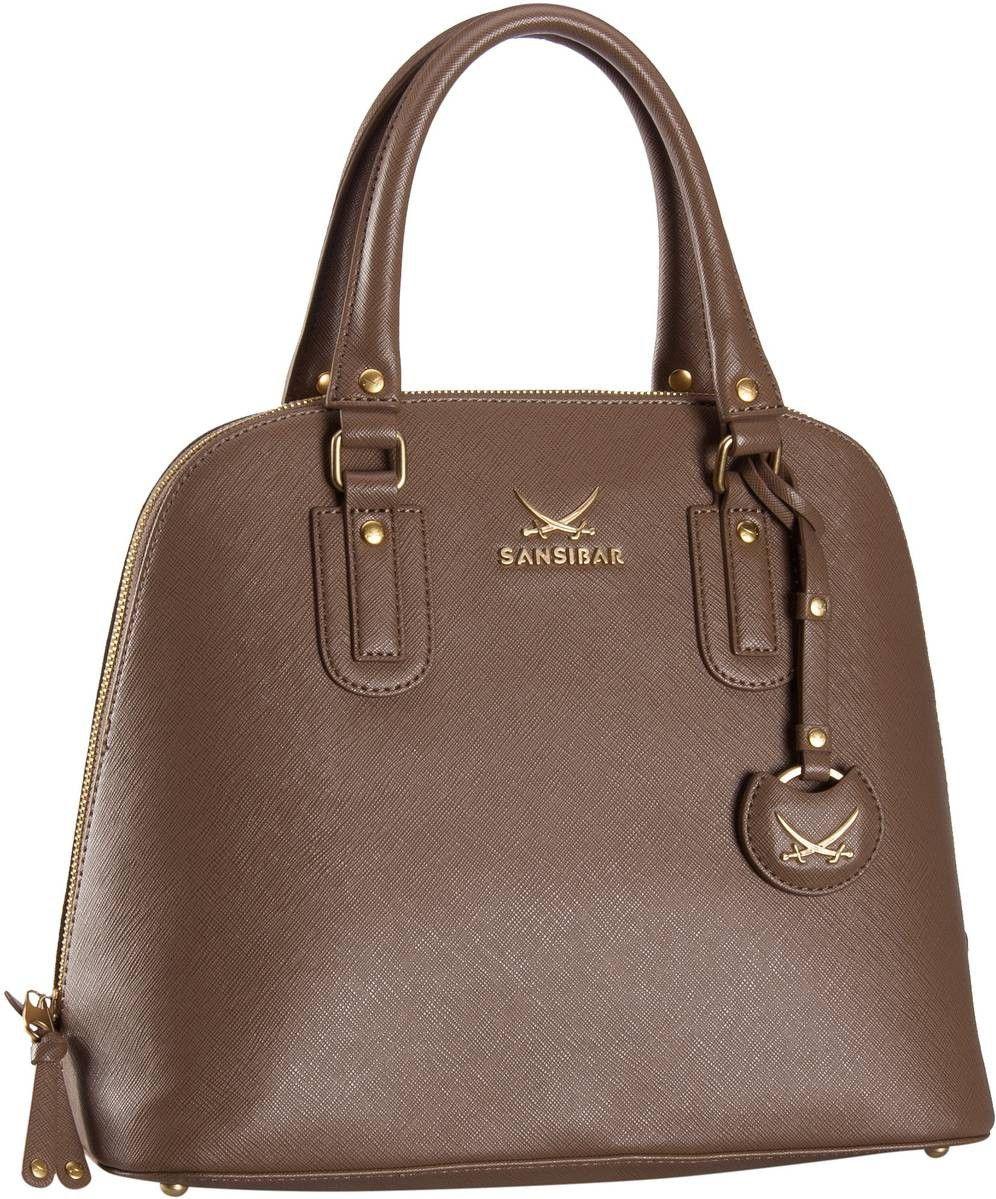 Sansibar Sansibar Chic Zip Bag Hoch Taupe (innen: Braun) - Handtasche
