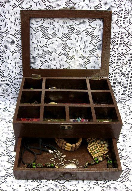 Great Jewelry Box Boxes Pinterest Box Jewelry storage and Fashion