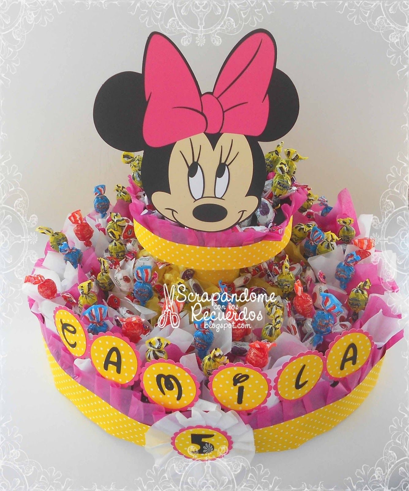 Scrapandome Con Los Recuerdos: Minnie Mouse Party - Camila Cumple ...