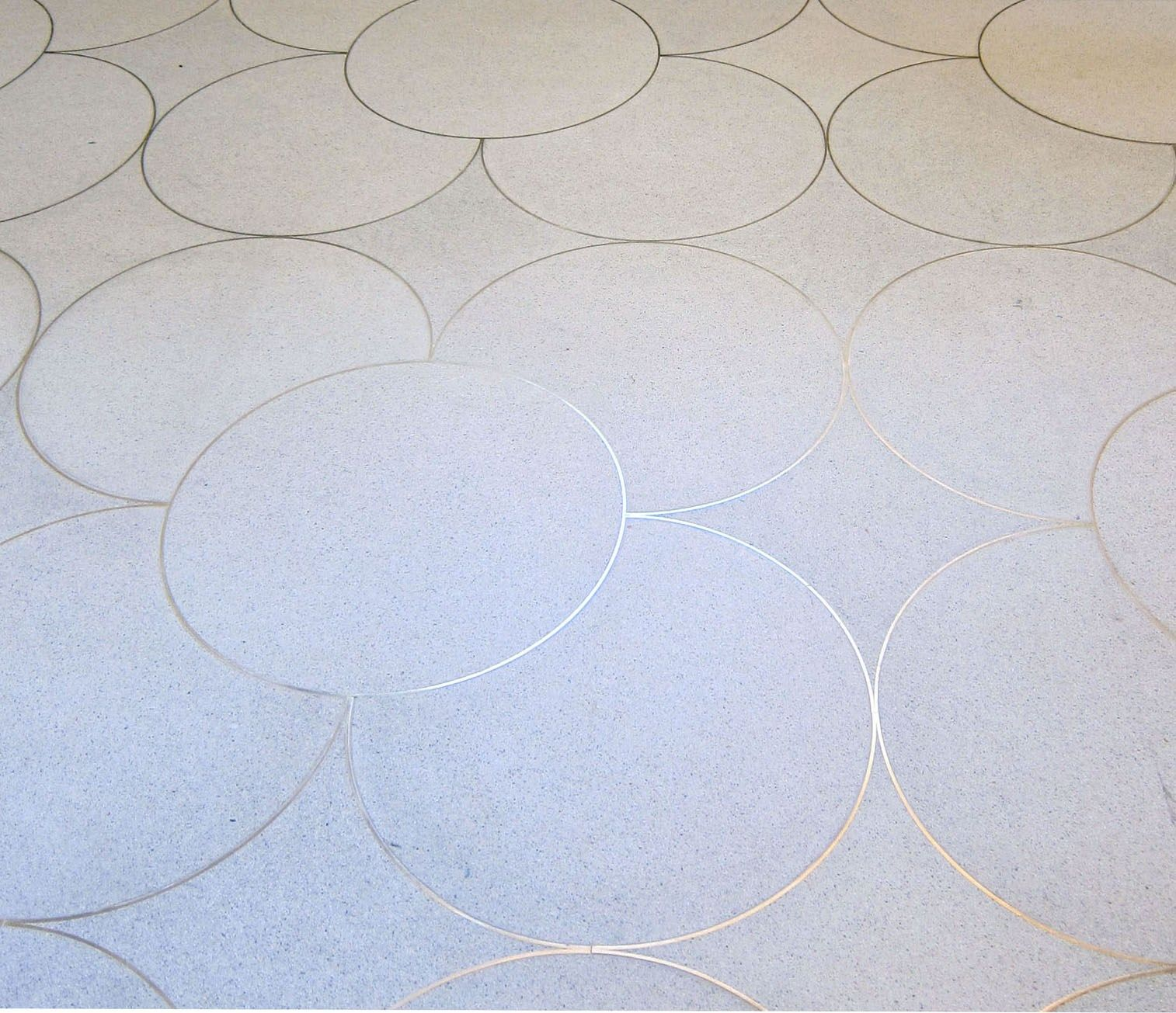 Steel Cut Rings embedded into concrete floors | Tristan Auer ...
