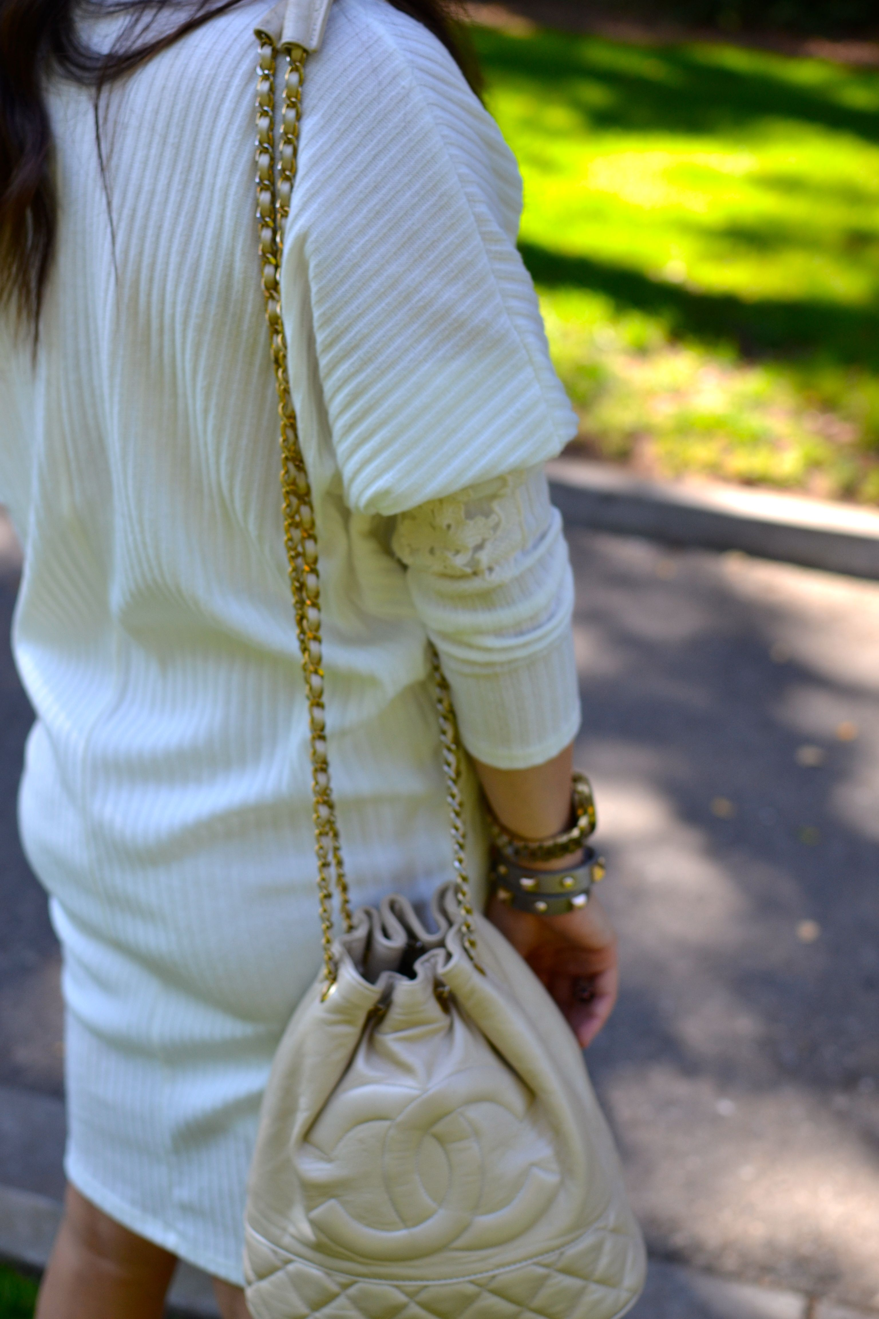 Spring Neutrals The Quintessentials Vintage Chanel Bags Casual Outfits