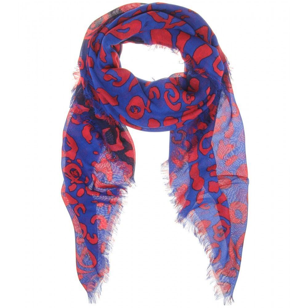 mytheresa.com - Printed scarf - McQ Alexander McQueen