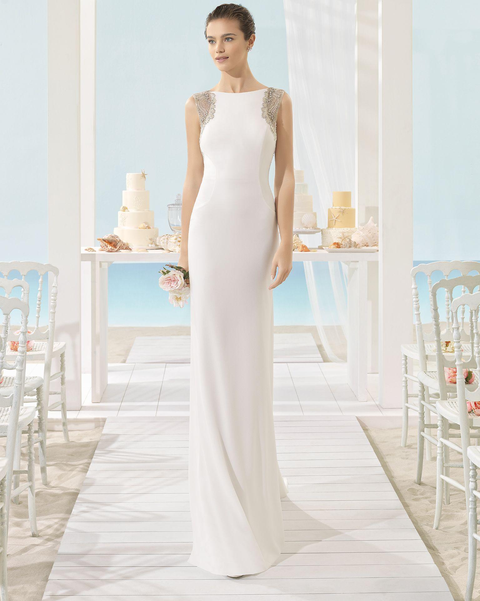 XILOF - Novia 2017. Colección Aire Barcelona Beach Wedding | Wedding ...