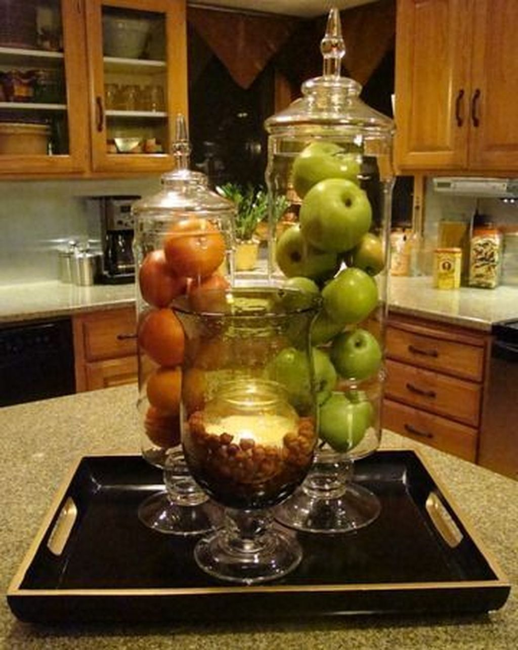 Cool 50 Best Ways To Decorate Your Apothecary Jars For Spring Kitchen Island Decor Apothecary Jars Decor Apothecary Jars Kitchen