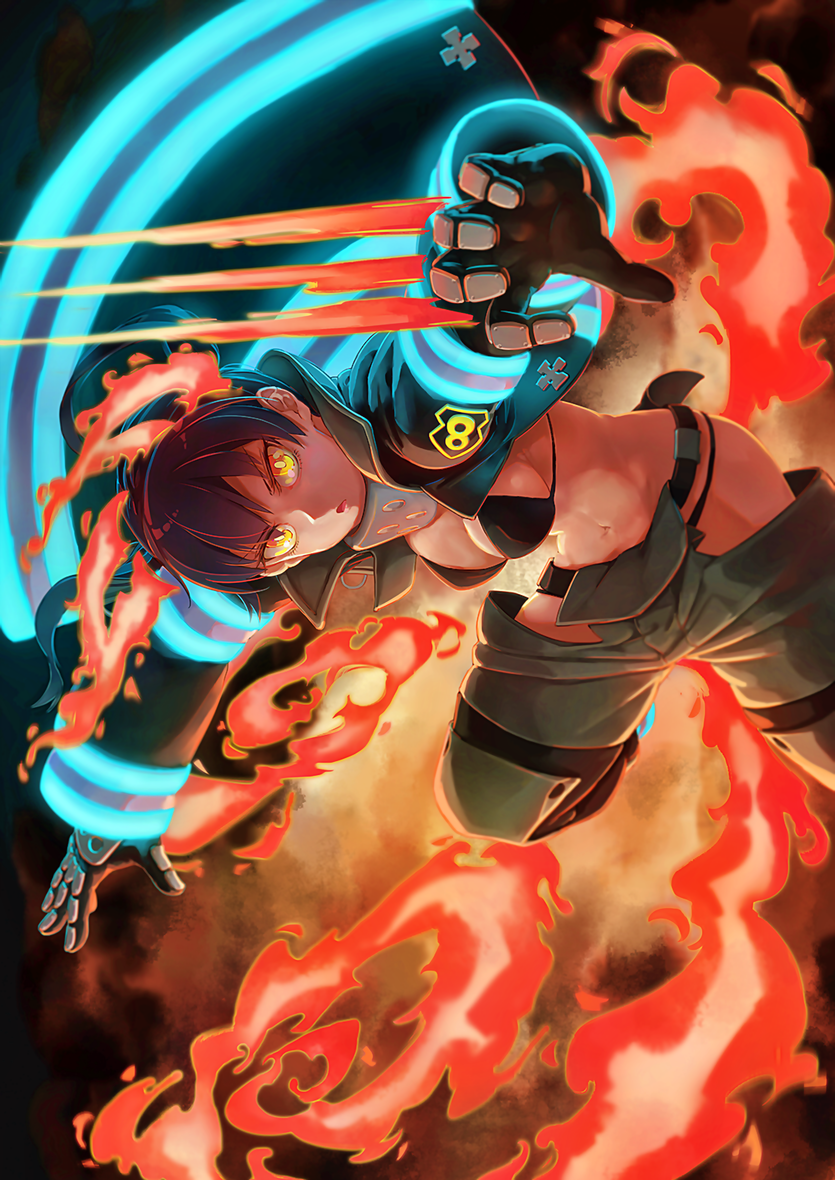Fire Force Tamaki Wallpaper : force, tamaki, wallpaper, Anime/Manga, ✌️