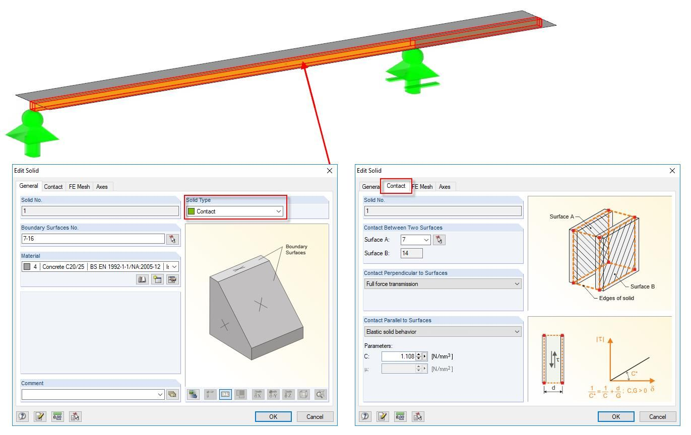 Modeling of Semi-Rigid Composite Beam Made of Timber as